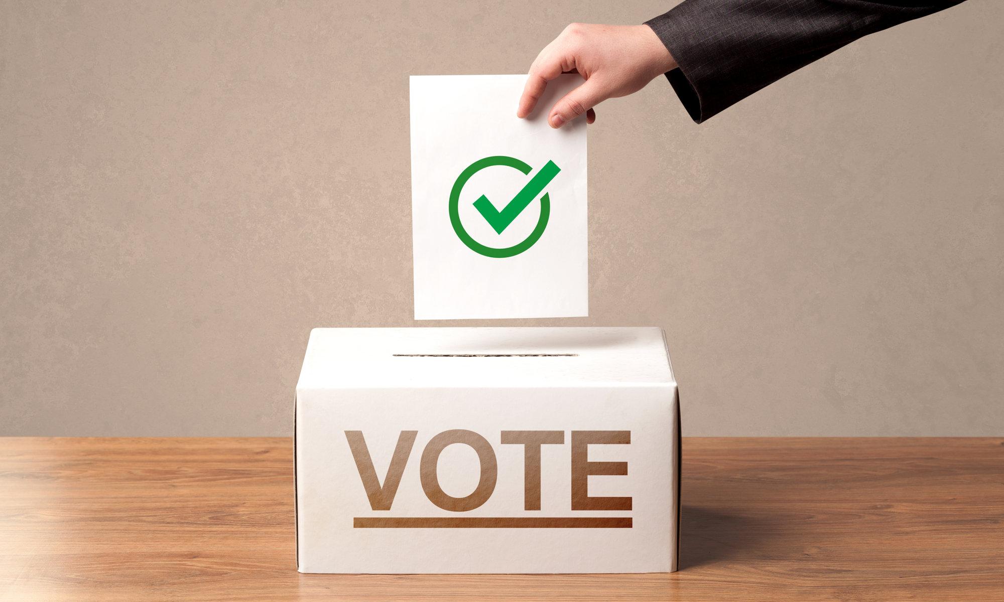 É preciso votar para mudar!